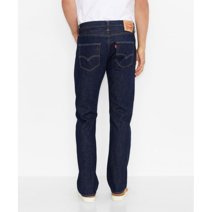 Pánské jeans Levis 501,  model 00501-0101 BUTTON FLY