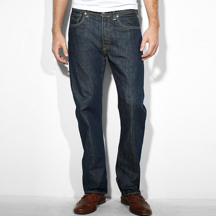 Levi´s pánské jeans 501 BUTTON FLY, 00501-0162