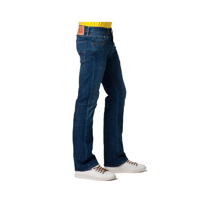Levi´s pánské jeans 527 ™ SLIM BOOT CUT Mostly Mid Blue - Prima móda e7b9aa86cc