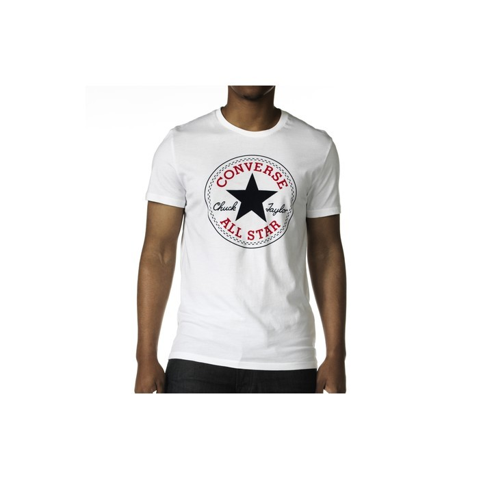 Pánské tričko Converse Chuck Taylor 08335C-110 Optic White - Prima móda 09ed97c44d