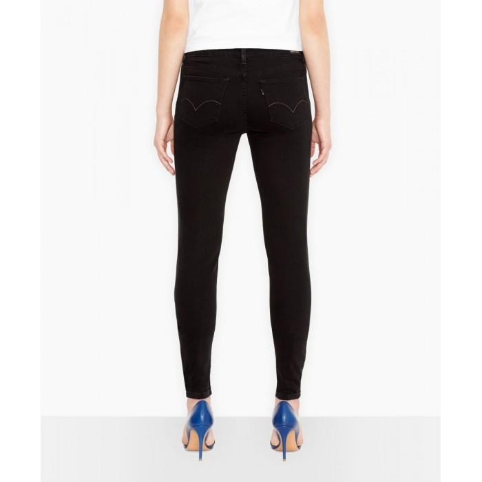 83f3196f2ac Dámské černé jeans Levis 535