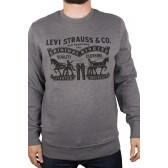 a7c27a316 Pánská mikina Levi's® model Graphic Crew Sweatshirt