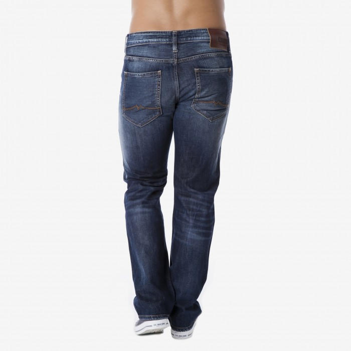 Mustang pánské jeans Michigan Dark Rinse Used 3135-5110-593