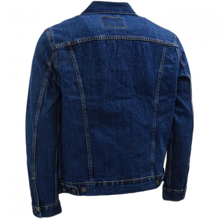 Levi´s pánská džínová bunda 72334-0133 The Trucker Jacket Dark Stonewash