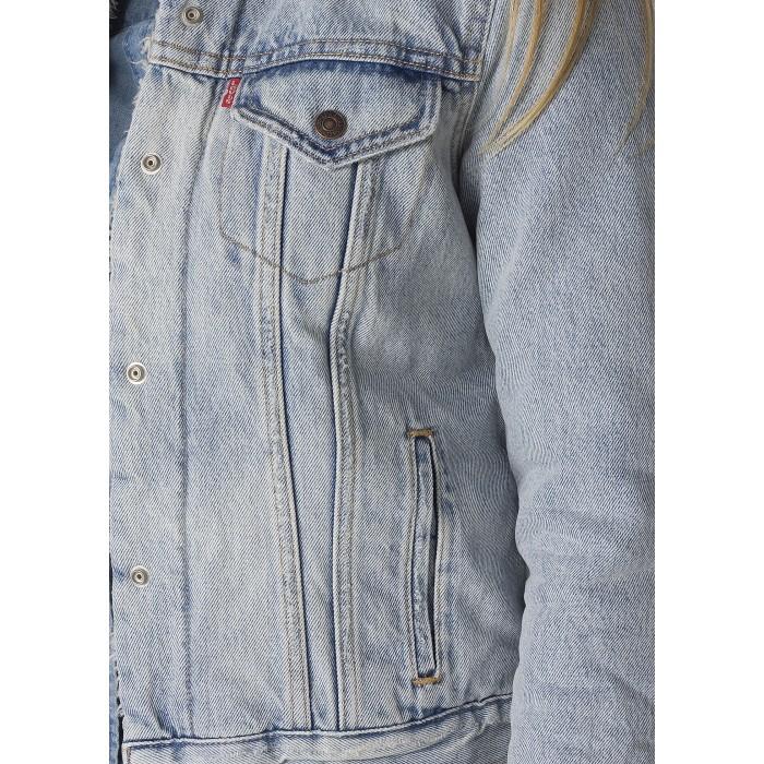 Levi´s dámská džínová bunda 28344-0003 Vintage Sherpa Trucker East ... 887b4b468c1