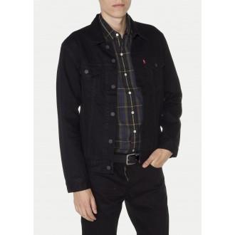 Levi´s pánská džínová bunda 72334-0144 Trucker Jacket Black Ocean Stonebridge