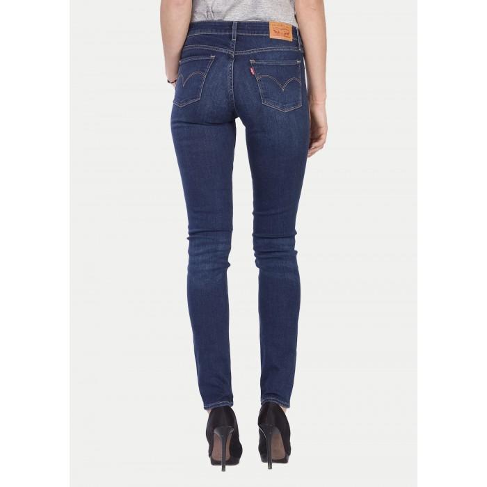 Levi s dámské jeans 711 SKINNY Long Way Blues - Prima móda b2a3172fde