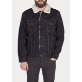Pánská jeans bunda Levi´s Sherpa Trucker Jacket Raw Power Sherpa