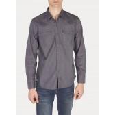 Levi´s pánská košile Barstow Western Shirt - Grey Rinse