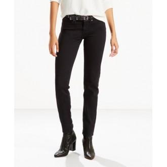 Levi´s dámské jeans 712 Soft Black