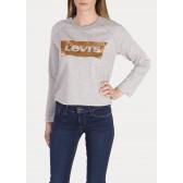 Levi's dámská mikina Copper Foil Gym Crew - Smokestack