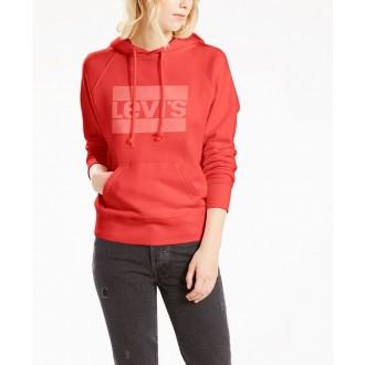 Levi's dámská mikina Graphic Sport Hoodie Fleece Sportwear