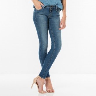 Levi's®  dámské jeans 710™ Super Skinny - La Vie