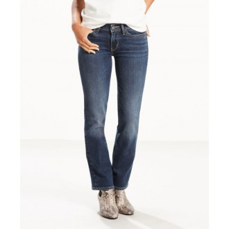 Levi´s dámské jeans 714 Straight West Coast Wonder