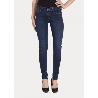 Levi's dámské jeans Innovation SUPER SKINNY Essential Blue
