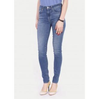 Levi's® 721™ dámské High Rise Skinny Jeans - Uptown Indigo