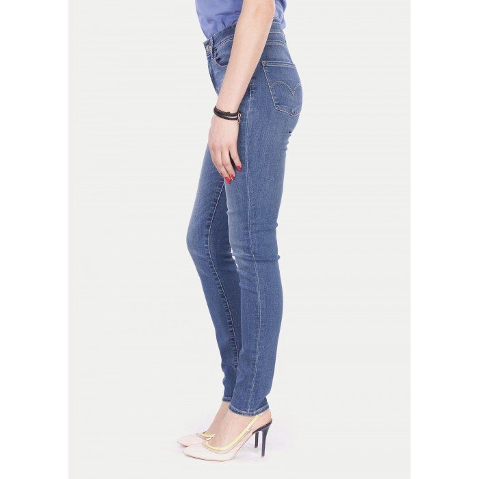 Levi s® 721™ dámské High Rise Skinny Jeans - Uptown Indigo - Prima móda 02d0aaea59
