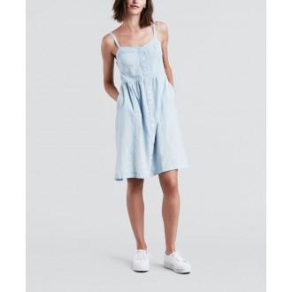 Levi´s  dámské džínové šaty GENEVA DRESS 39427-0000 LIGHT MID WASH