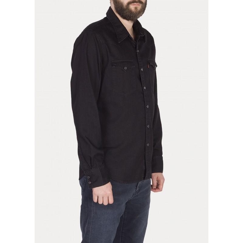 b7c583244b94 Levi´s pánská košile Barstow Western Black - Prima móda