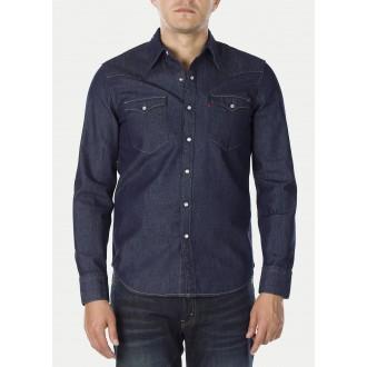 Levi´s pánská jeans košile Barstow Western Red Cast Rinse