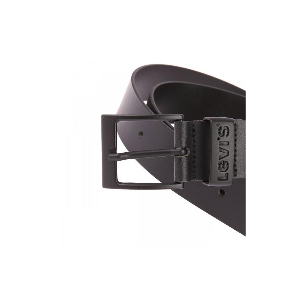 Levi´s pánský opasek Ashland Gun Metal Black