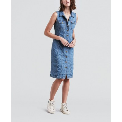 Levi´s dámské jeans šaty 39457-0000 Western Dress Aubrey