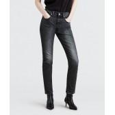 Levi´s dámské jeans 501 SKINNY Coal Black