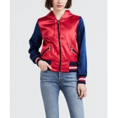 Levi´s dámská bunda 56288-0000 Billie Bomber Chinese red