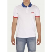 Levi´s pánské triko Modern Polo Colorblock True Blue White Red