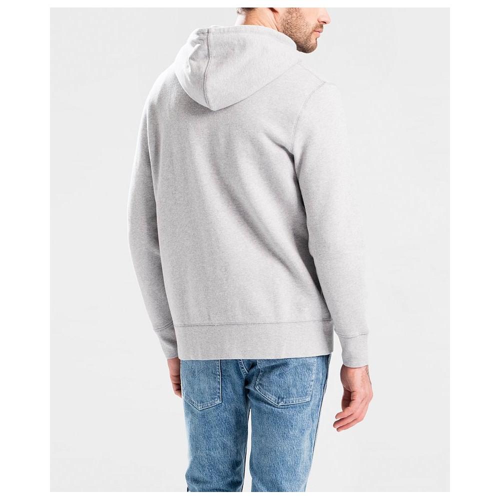 Levi´s pánská mikina ORIGINAL HM ZIPUP HOODIE Medium Grey Heathe