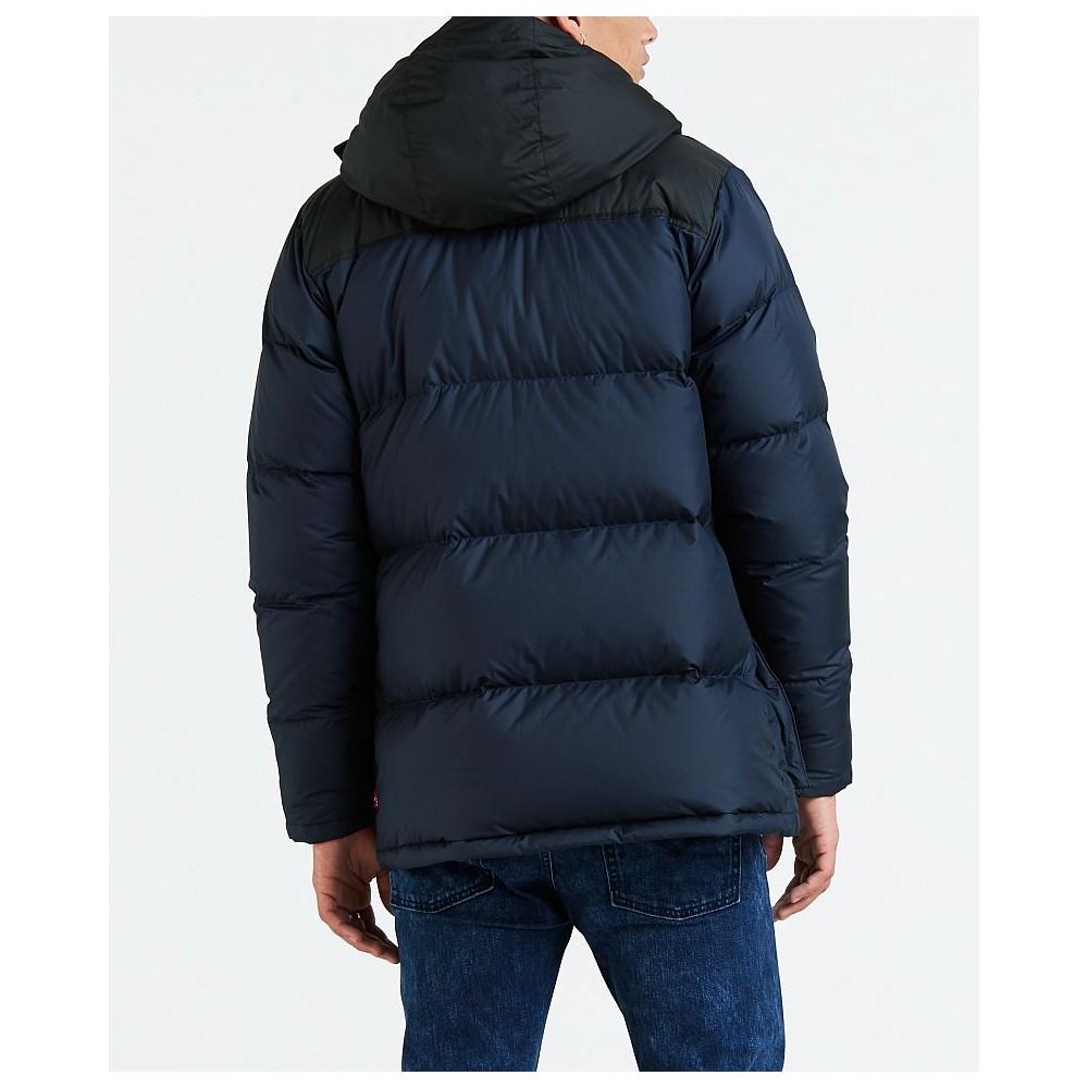 Levi´s pánská zimní bunda DOWN PUFFER PARKA Sky Captain