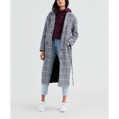 Levi´s dámský kabát FRIDA COAT Wombat Medieval Blue