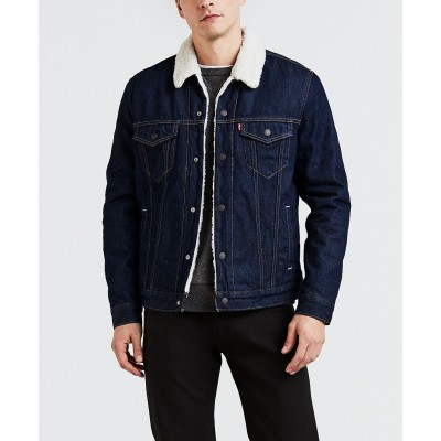 Levi´s pánská jeans bunda TYPE 3 SHERPA TRUCKER Rockridge Trucker