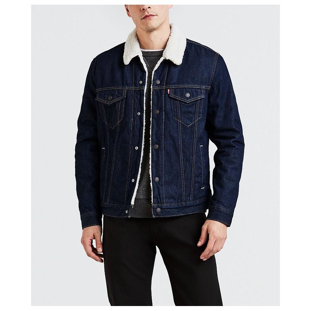 Levi´s pánská jeans bunda TYPE 3 SHERPA TRUCKER Rockridge Trucker