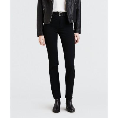 Levi´s dámské jeans 724 HIGH RISE STRAIGHT 18883-0006 Black Sheep