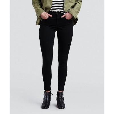 Levi´s dámské jeans 720 HIRISE SUPER SKINNY 52797-0000 Black Galaxy