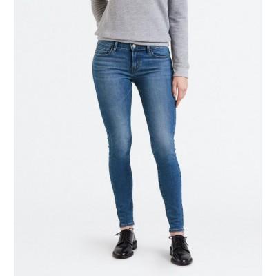 Levi´s dámské jeans 710 SUPER SKINNY Rain Check