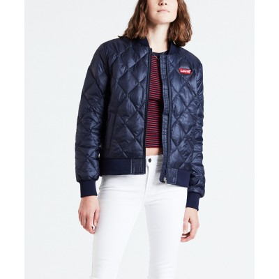 Levi´s dámská bunda NORA PACKABLE JACKET 56314-0002 Maritime Blue
