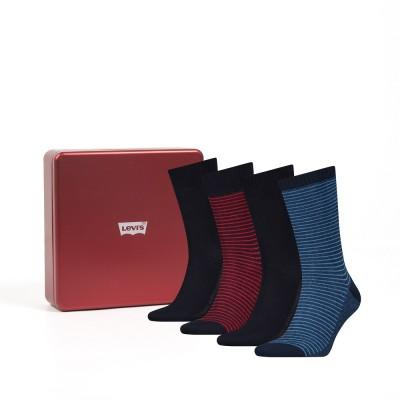 Levi´s ponožky dárkové balení 4 pack