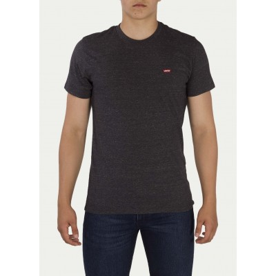 Levi´s pánské triko SS ORIGINAL HM TEE 56605-0002 Tri Blend Patch Obsidian Heather