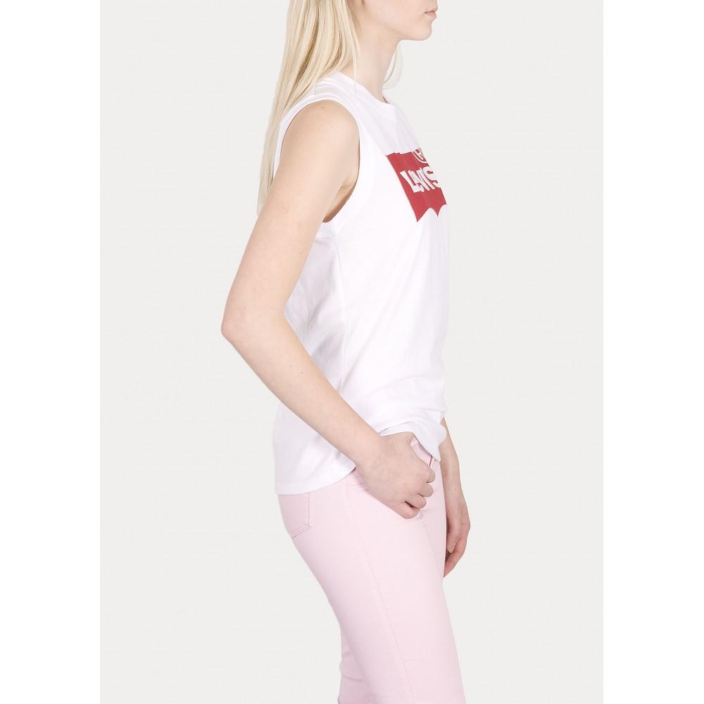 Levi´s dámské triko ON TOUR TANK 29669-0022 Red HSMK Tank White