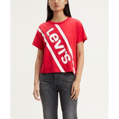 Levi´s dámské triko Graphic Varsity Tee 69973-0026 Bold Sloped Logo Lychee