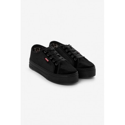 Levi´s dámské boty Tijuana Black Velvet
