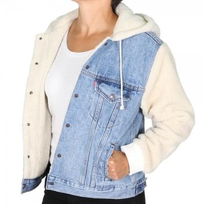 Levi´s dámská jeans bunda EX-BF SHERPA SLV TRUCKER 79692-0000