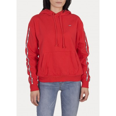 Levi´s dámská mikina Unbasic Hoodie Brilliant Red
