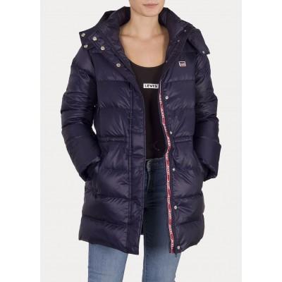 Levi´s dámská zimní bunda KELLI DOWN PUFFER 83571-0002 Sea Captain Blue
