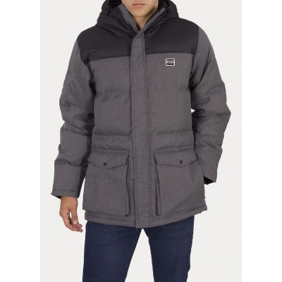 Levi´s pánská bunda PUFFER PARKA 56585-0007 Dark Heather Grey