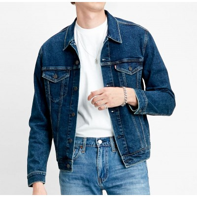 Levi´s pánská jeans bunda The Trucker Jacket Moon Lit 72334-0466