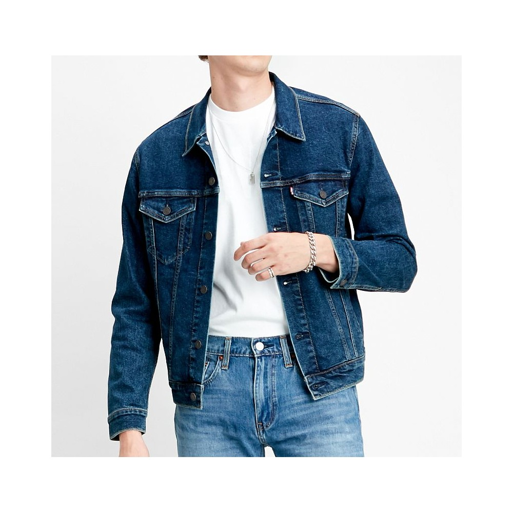Levi´s pánská jeans bunda The Trucker Jacket Moon Lit 72334-0466