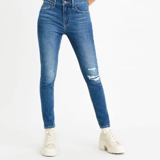 Levis 720 High-Rise Super Skinny Ankle Jeans